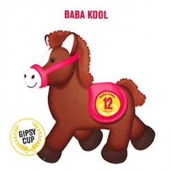 Peluche Cheval sonore 22 cm - Baba Cool