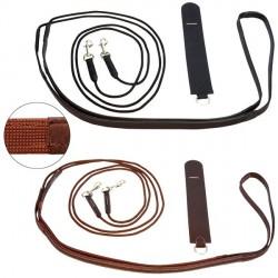 Rênes allemandes cuir corde Treadstone