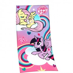 Serviette de plage Cheval - My little pony nuages
