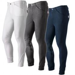 Pantalon d'équitation Tattini gris taille 38