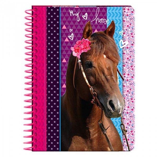 Carnet Cheval My Love Horse A6