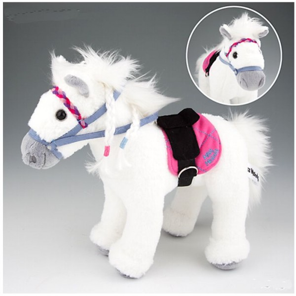 Peluche Cheval Blanc Miss Melody